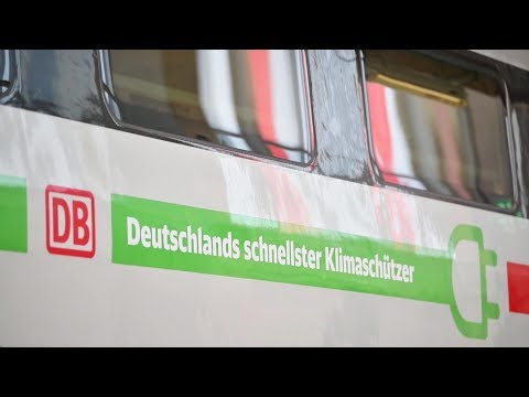 Neues Außendesign für ICE Züge: Roter Streifen wird grün
