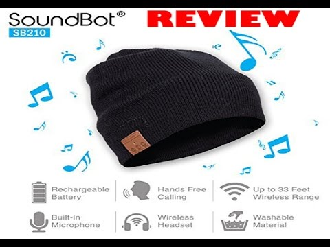 8592ae8f691 SoundBot SB210 HD Stereo Bluetooth 4.1 Smart Beanie Review - YouTube