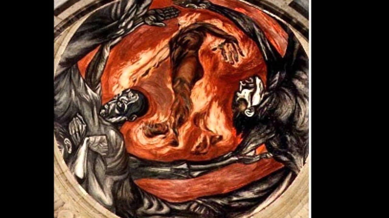 Jos clemente orozco youtube for El hombre de fuego mural de jose clemente orozco