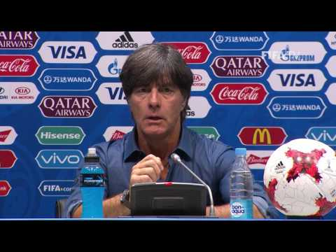 AUS v. GER -  Joachim LÖW -  Germany Post-Match Press Conference