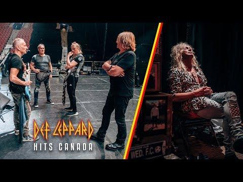 Heather Burnside - Def Leppard Concert Got So Hot A Cloud Formed Inside The Arena