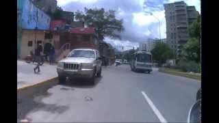moto caracas go pro el valle plaza Venezuela en 6 minutos menos en mi gn 125