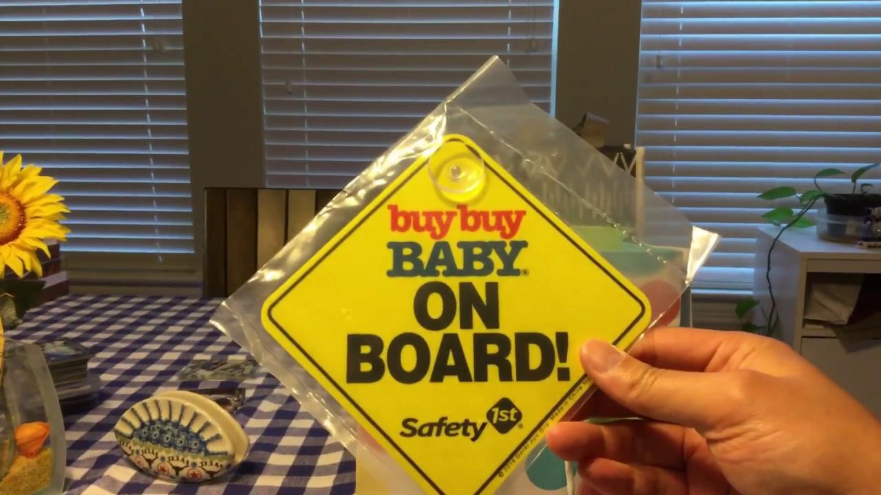 Target Baby Box Unboxing & Target/Buy Buy Baby Baby ...
