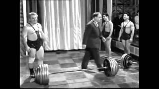 Аркадий и Роман Новак - толчок 240 кг