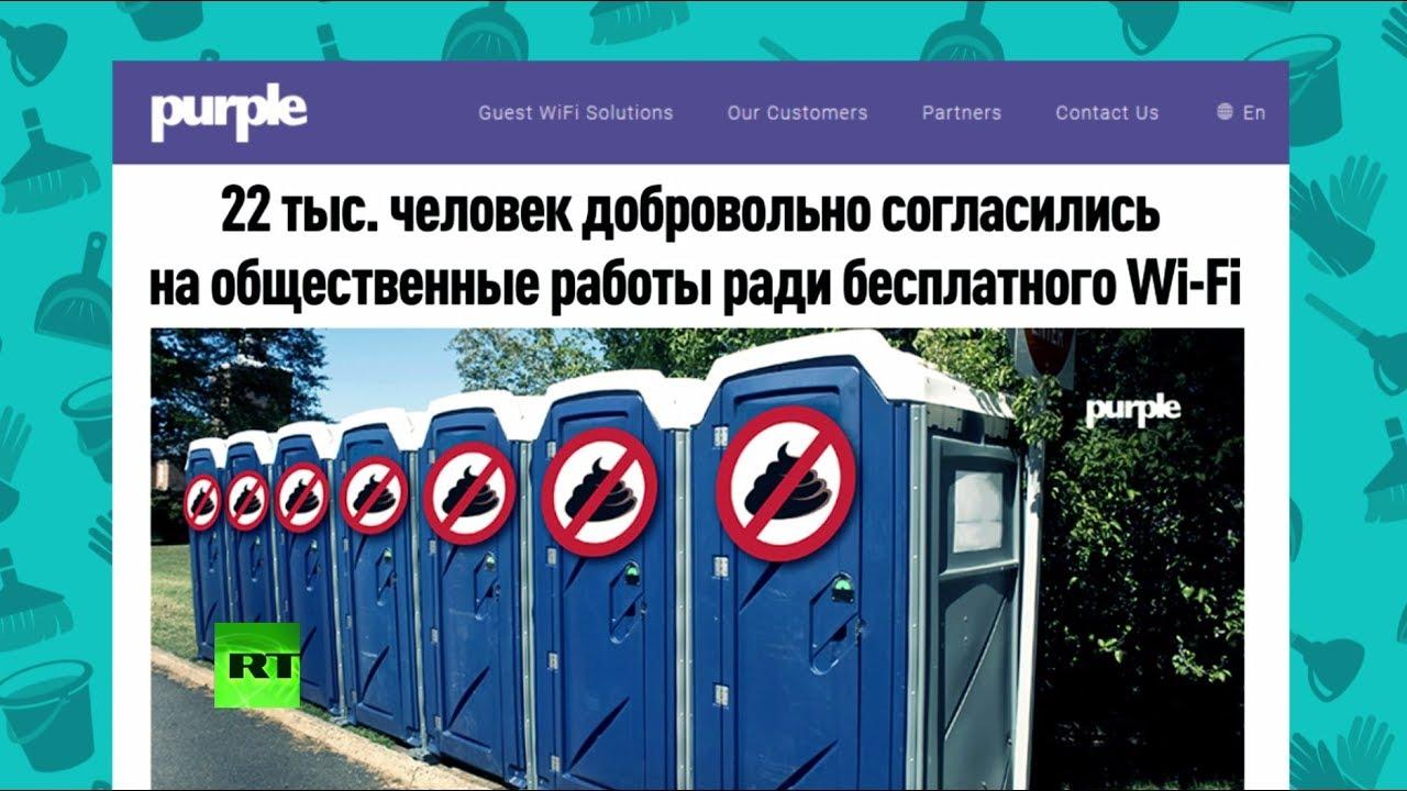 Чистить туалеты за Wi-Fi: что грозит тем, кто не читает пользовательское соглашение