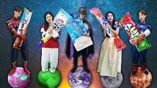 아이스크림 슈퍼히어로 핑거송 컬러송 불러요 | 어린이 노래 | Superhero color song |  | 말이야와아이들