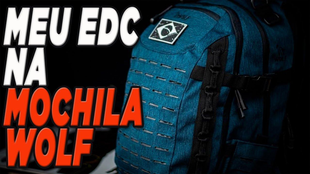 EDC na Mochila Wolf Rota Extrema Modelo 2020
