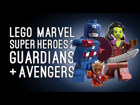 Let's Play Lego Marvel Superheroes 2: LEGGLE MARVOS! (Split Screen Gameplay)
