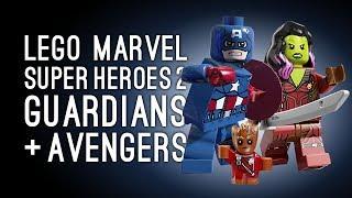 Let's Play Lego Marvel Superheroes 2: LEGGLE MARVOS! (Split Screen Gameplay)