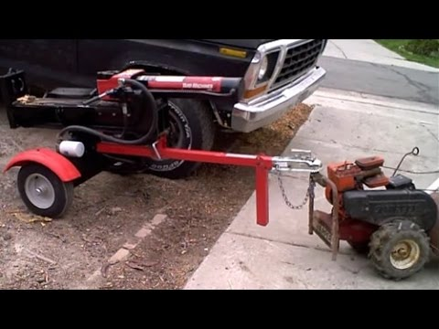 Gas Powered Trailer Mover Youtube