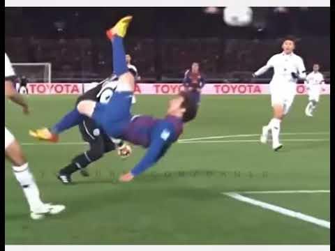 Lionel messi vs cristiano ronaldo crazy bicycle kicks show skills new 2017 youtube - Messi bicycle kick assist ...