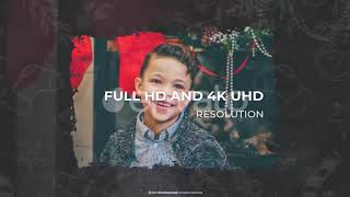 Happy Christmas 2020 Slideshow After Effects Project Files hive template