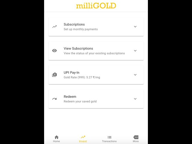 How to use our Gold Savings App (6 Min)