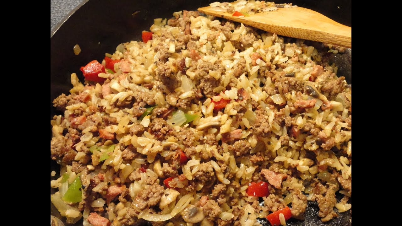 How To Cook Rice And Meat