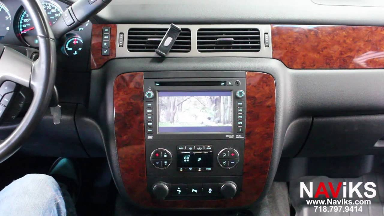 2013 Chevrolet Suburban NAViKS Video In Motion Bypass