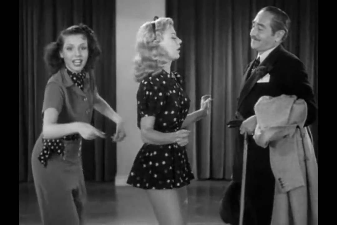 Rehearsal Dance Of Ginger Rogers and Ann Miller - Stage Door (HD) - YouTube  sc 1 st  YouTube & Rehearsal Dance Of Ginger Rogers and Ann Miller - Stage Door (HD ...