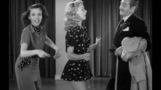 Rehearsal Dance Of Ginger Rogers and Ann Miller - Stage Door (HD)