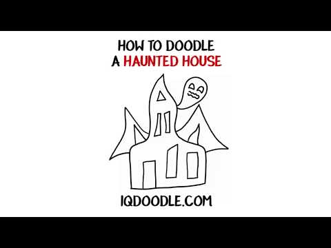 How to Draw a Haunted House (drawing tips)