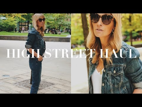 HIGH STREET HAUL & TRY ON   FASHION AND STYLE EDIT JULY 2019