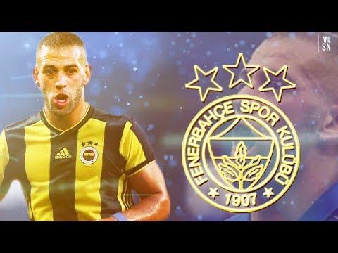Islam Slimani | 2016-2018 | Welcome to Fenerbahçe | Skills