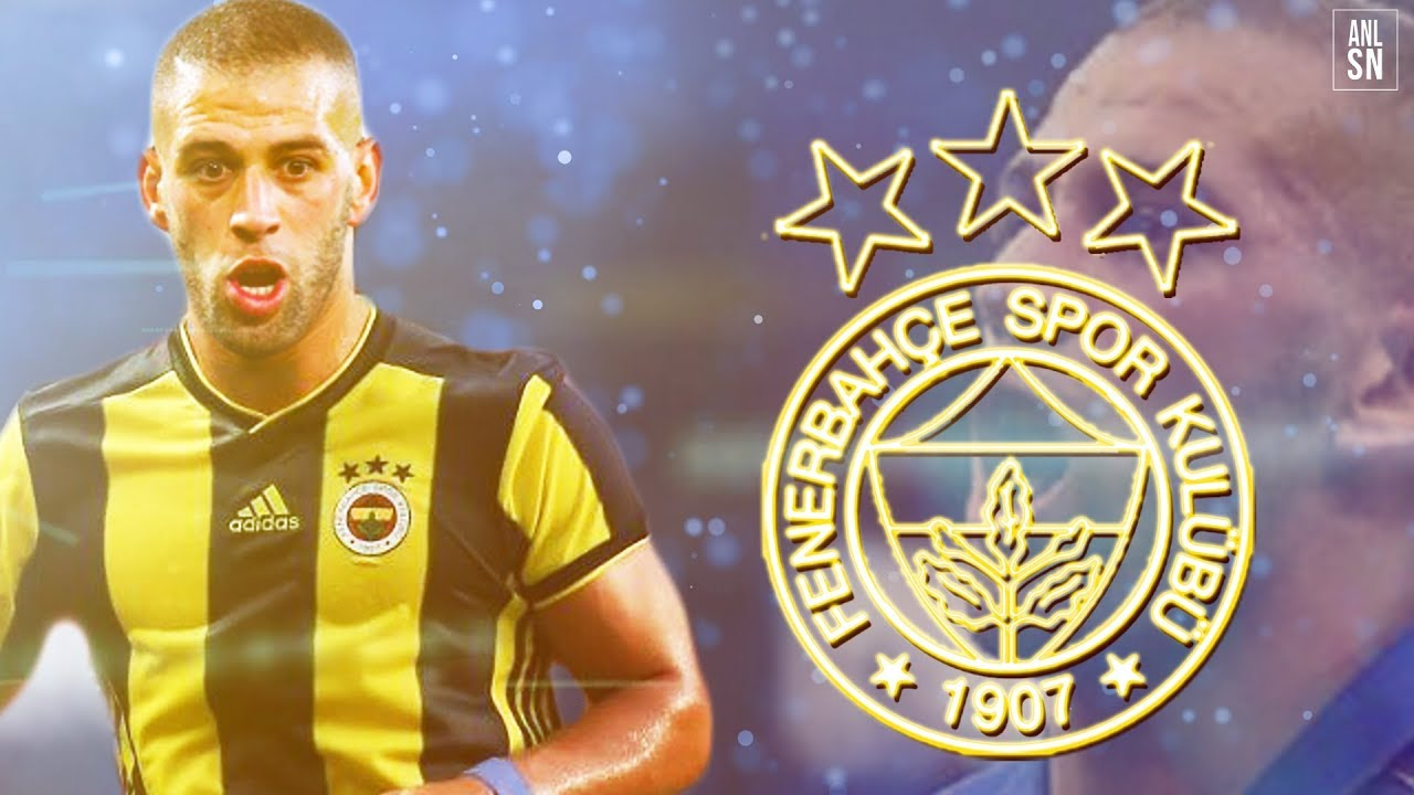 Islam Slimani | 2016-2018 | Welcome to Fenerbahçe | Skills,Dribblings And  Goals | HD