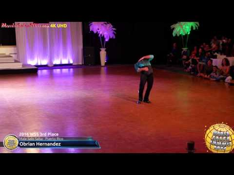 WSS16 Professional Male Solo Salsa 3rd Place Obrian Hernandez