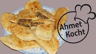 Rezept: Teigtaschen mit Hackfleisch | AhmetKocht | türkisch kochen | Folge 107