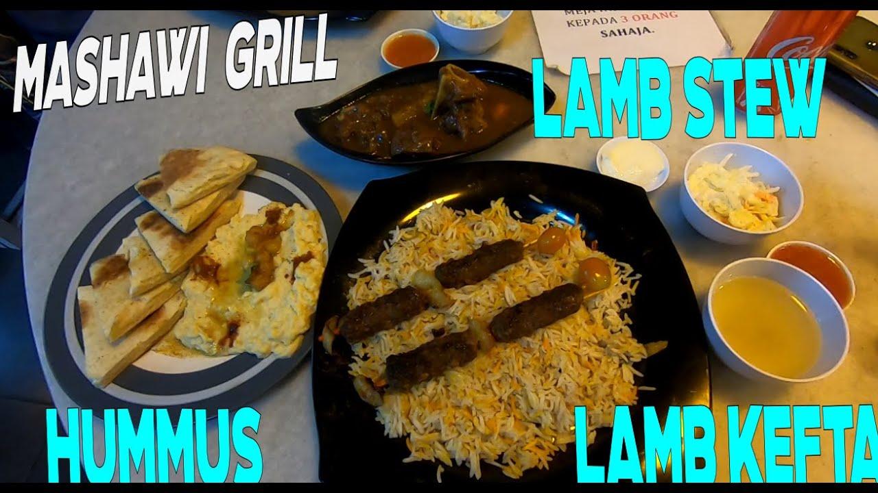 Nasi Arab Lamb Kefta Di Mashawi Grill Kita Makan Dulu Youtube