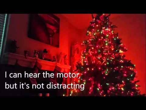 Christmas Tree Rotating Tree Stand Review