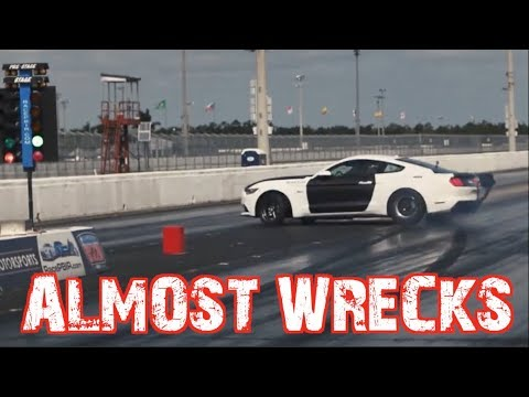 Mustang ALMOST WRECKS then sets World Record!