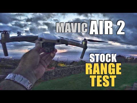 DJI Mavic AIR 2 Range Test - How Far Will it Go?  (Flying to 0% Power)