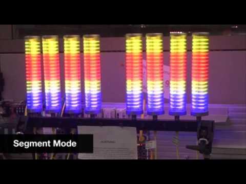 8 Balluff Smartlights and 1 8 port master controlled by Allen Bradley ControlLogix