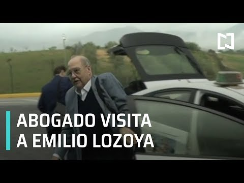 Emilio Lozoya recibe