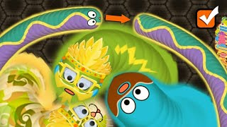 Wormate.io - Tiny Wormateio Love Selfie With 1000 Plus Pro Snakes - Wormate IO Free Online Game
