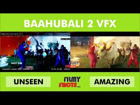 Baahubali 2 VFX | Baahubali 2 : The Conclusion Vfx - Visual Effects - Breakdowns | Behind The Scene