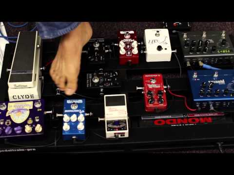 How To Build A Pedalboard - Guitar Effects Pedals - Gear Demo - Pedaltrain