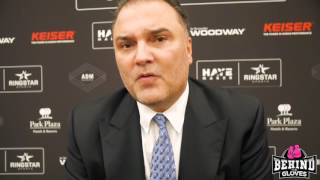RICHARD SCHAEFER DISCUSSES JOINT VENTURE WITH DAVID HAYE TO FORM HAYEMAKER RINGSTAR