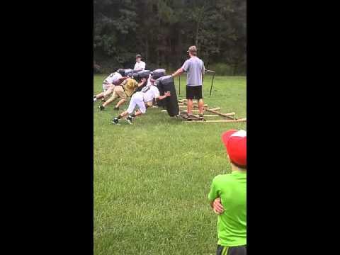 Swainsboro middle school practice Elijah Loyd