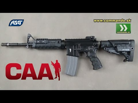 Airsoft CAA M4 Carbine Gas BlowBack 450 Fps 6mm