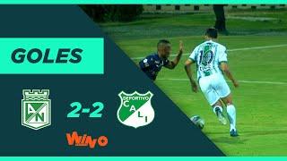 Nacional vs. Cali (2-2)   Liga BetPlay Dimayor 2020 I Fecha 5