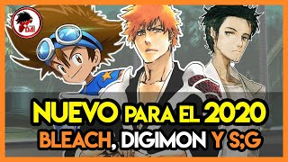 ¡NUEVO BLEACH EN 2020!..y DIGIMON ADVENTURE un REBOOT [ DAI NEWS ]