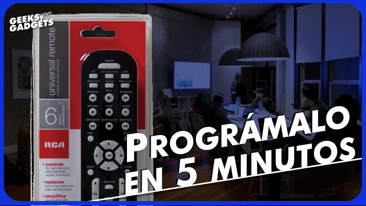 Cómo programar el control universal RCA RCR6473R | Mejores gadgets con  Radioshack