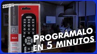 Cómo programar el control universal RCA RCR6473R | LuisGyG