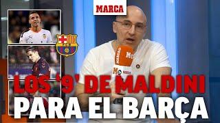 Los '9' preferidos de Maldini para que fichen por el Barça I MARCA