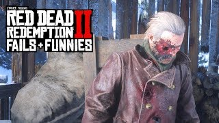 Red Dead Redemption 2 - Fails & Funnies #55