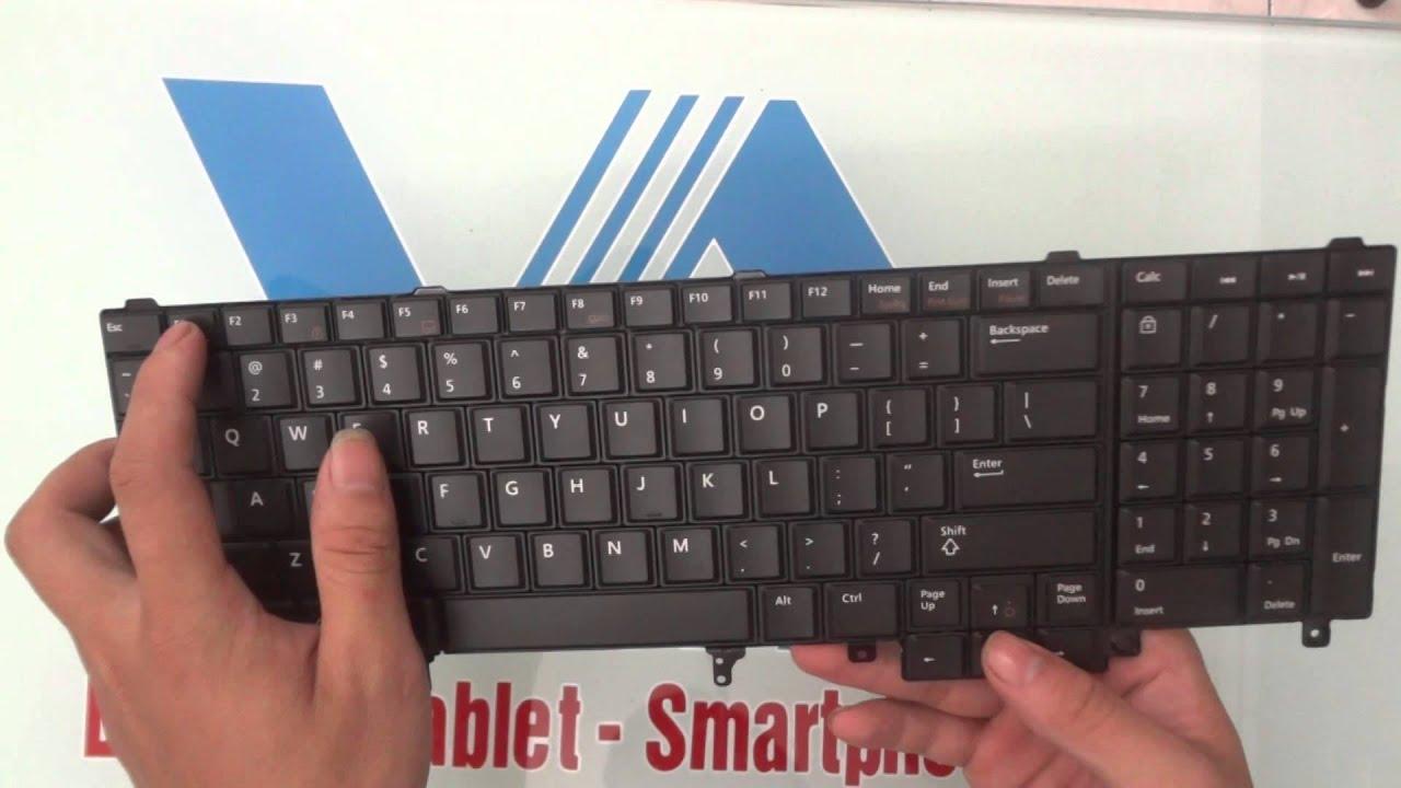 Bàn phím laptop Dell Latitude E5520, E6520, E6530, E6540, E5530