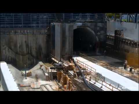 Port of Miami Tunnel Time Lapse Video