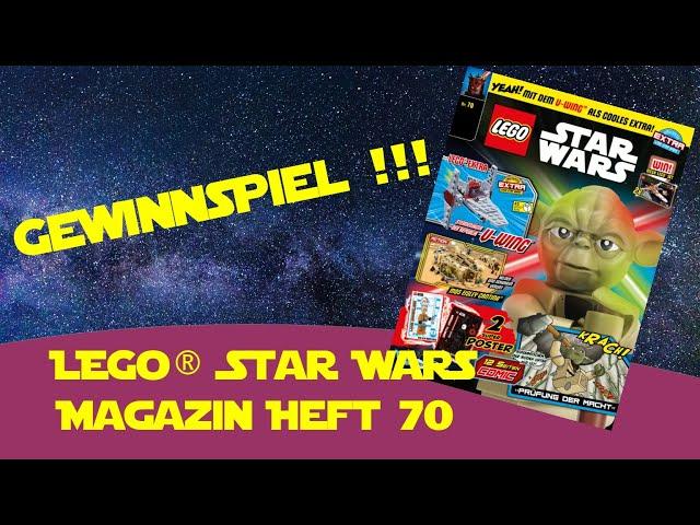 Lego Star Wars Magazin Heft 70 Blue Ocean