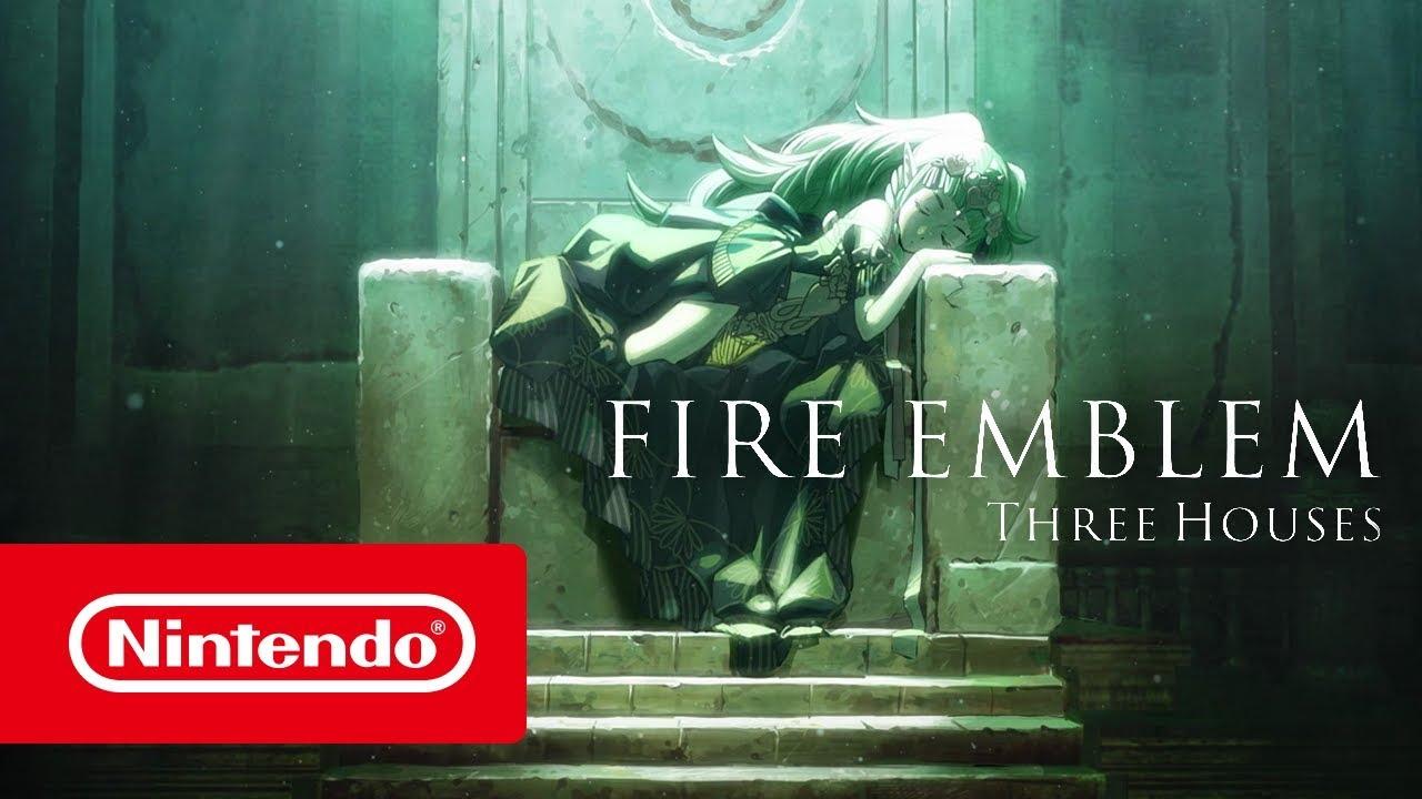 Fire Emblem Three Houses Trailer Del E3 2018 Nintendo Switch