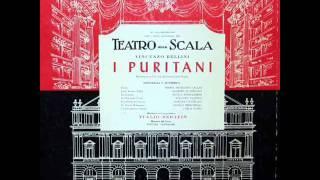 Bellini - I Puritani - Sinfonia (Overture) - Opening of Act 1 - Tullio Serafin - La Scala Orchestra